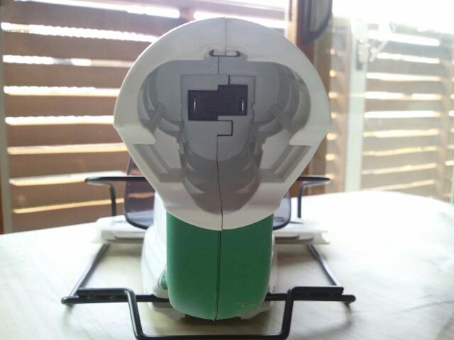 MUM164DZのバッテリー格納部