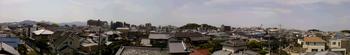 屋根の上からのパノラマ写真